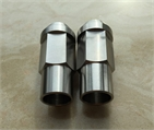 Titanium wheel nuts